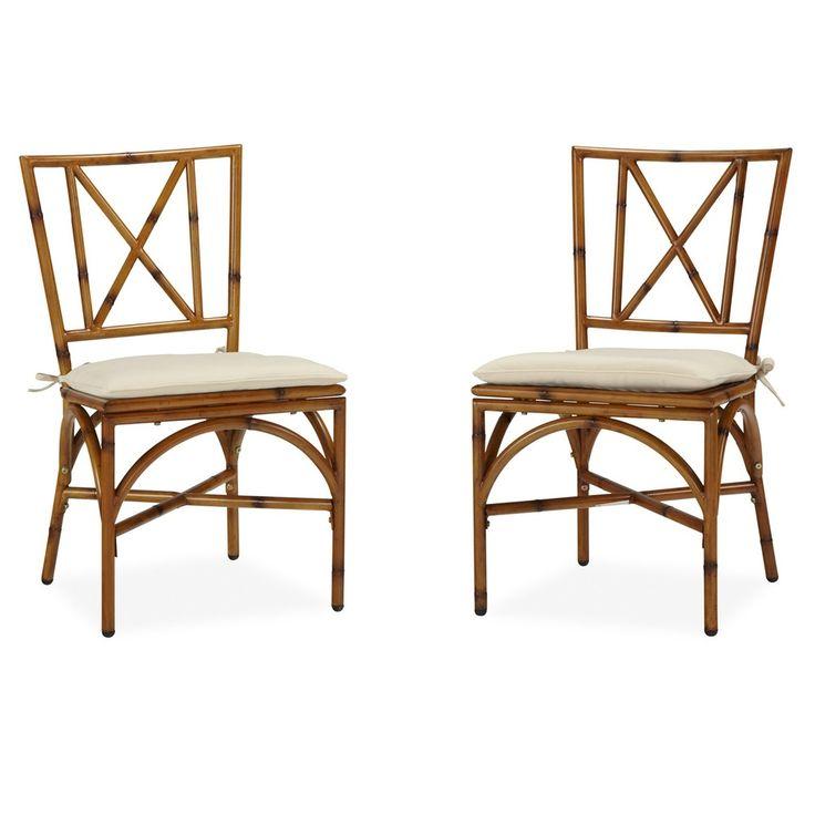 Bimini Jim Dining Chair Pair with Cushion | Overstock.com, $329.99