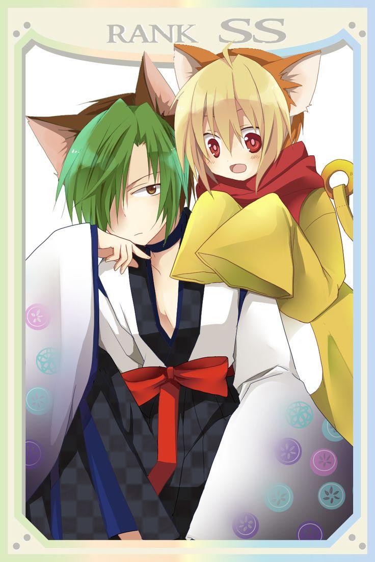 Higanbana no saku yoru ni - Kyou and Sakunoshin (Sakutarou)