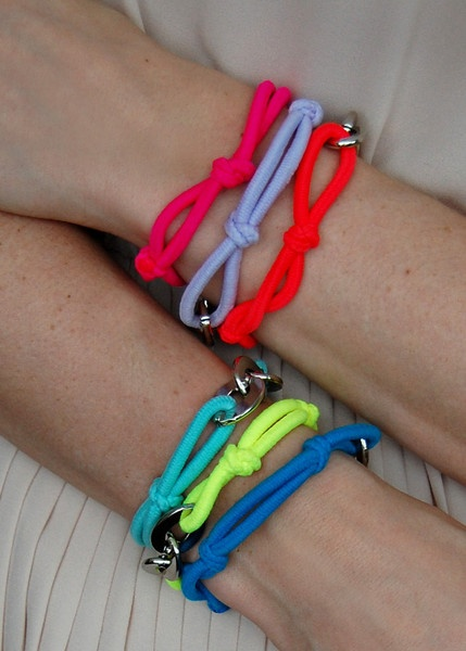 neon friendship bracelets...need I say more?!? from cutie jewelry designer  lauren elan