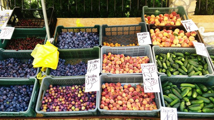 Wadowice fruit market