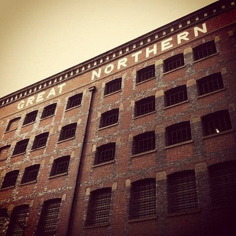 The Great Northern Railway Goods building on Deansgate Manchester