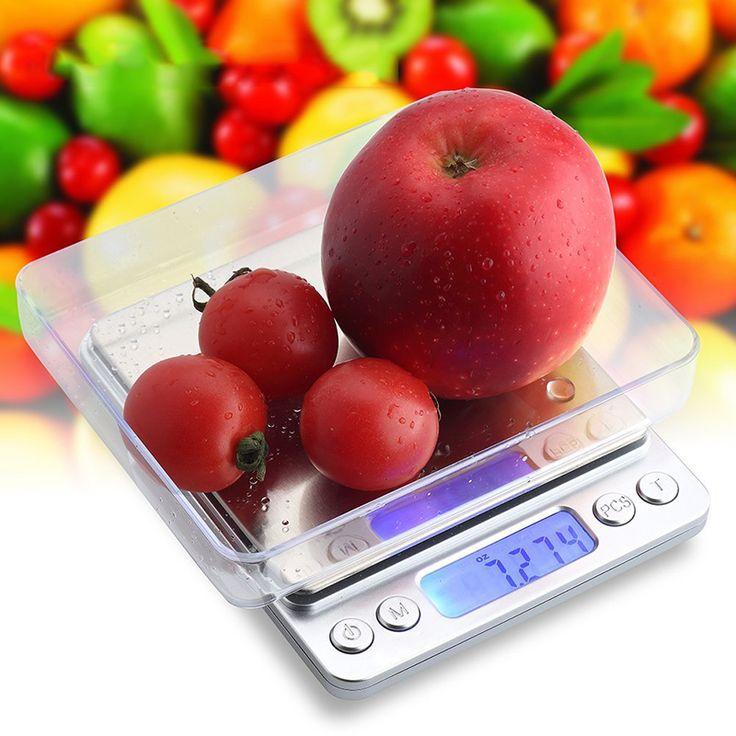 2000g 0.1g Mini Multi-unit Conversion Digital Electronic Kitchen Scale Pocket Jewelry Weight Scale