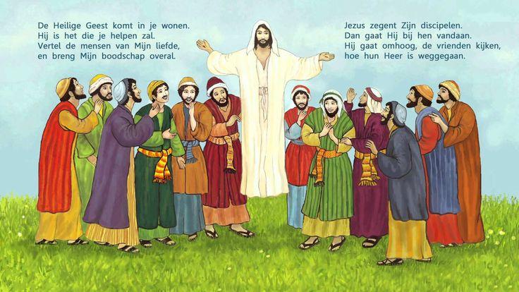 Jezus gaat naar de hemel bible crafts ascension jesus