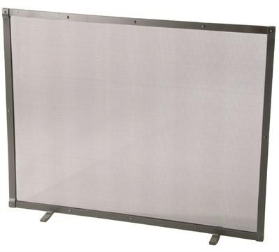 Contemporary Fireplace Screen & Enclosure from Stone County Ironworks, Model: 901-890