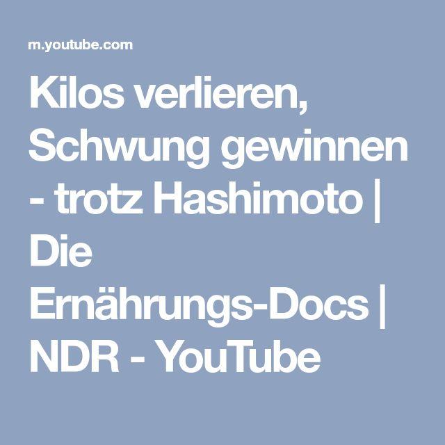 Kilos verlieren, Schwung gewinnen - trotz Hashimoto   Die Ernährungs-Docs   NDR - YouTube