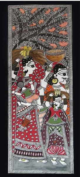 Indian Painting Styles...Madhubani/Mithila Painting (Bihar) - Page 9 - IndusLadies