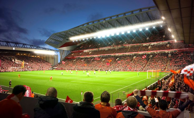 Liverpool Anfield Stadium Wallpaper