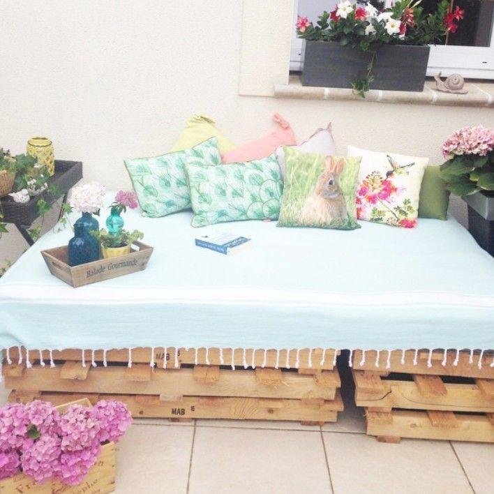 Çiçekler, Kendinyap, Mavi, Bahçe