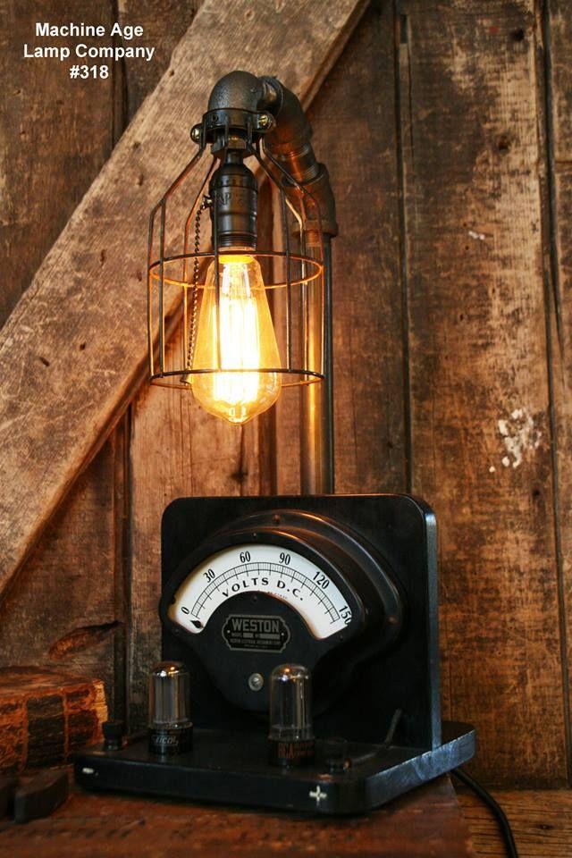 Machine Age Lamp Company Lamp #318