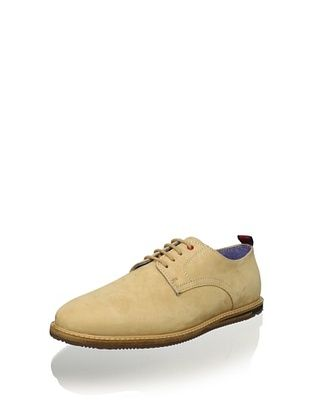 Ben Sherman Men's Mayfair Nubuck Oxford (Beige)