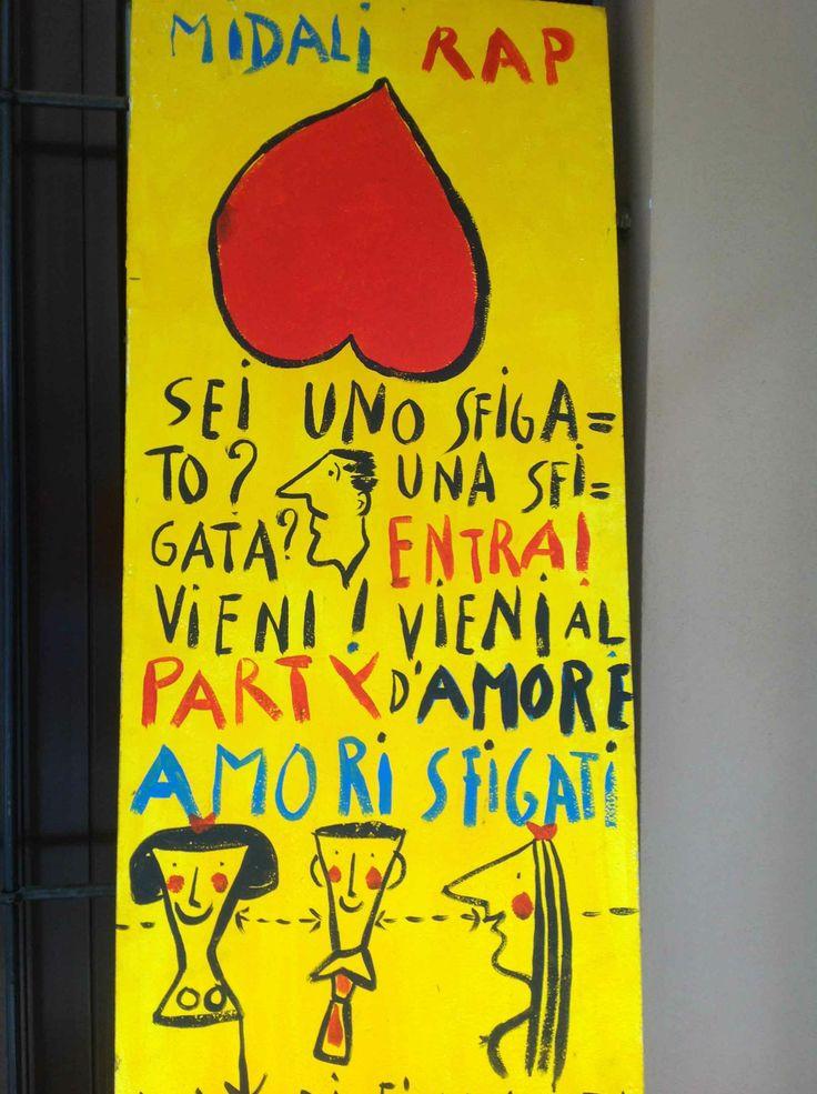 Rap per Midali, 9 aprile Via Bronzetti 23 Milano