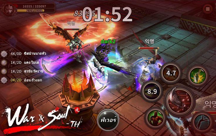 War & Soul เกมสามก๊กแนว Action RPG ที่มาพร้อมกราฟฟิคขั้นสูงสมจริงแบบสุดๆ คมชัดทุกการเคลื่อน จากค่าย Mfungamer ประกาศเปิดให้แฟนๆ... #ข่าวเกมมือถือ #เกมมือถือน่าเล่น #เกมมือถือไทย