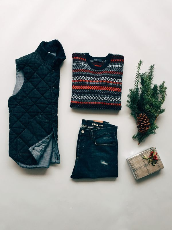 Get festive with fair isle. Shop this and more from Holiday '15.