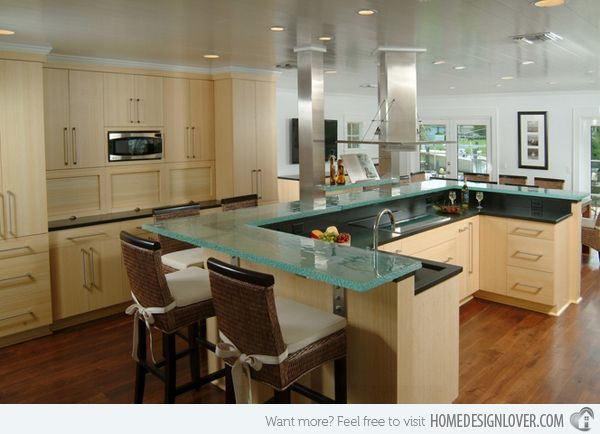 Superior 17 Beautiful Contemporary U Shaped Kitchen Layouts