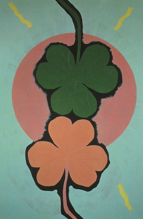 Gary Hume - Two Three Leaf Clovers (1994)