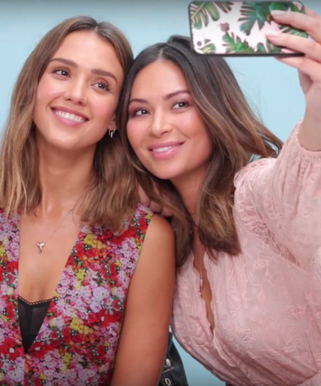 Jessica Alba Shows Off Her Major Makeup Artist Skills in This Video