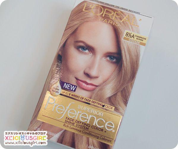L Or 233 Al Superior Preference Champagne Blonde Hair Dye