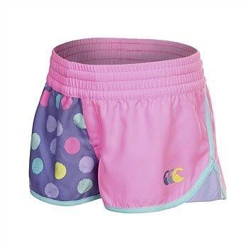 Kids Sports Clothes & Sportswear - Kids Sports Apparel - Rebel Sport - Canterbury Girls Carnival Boardie Shorts