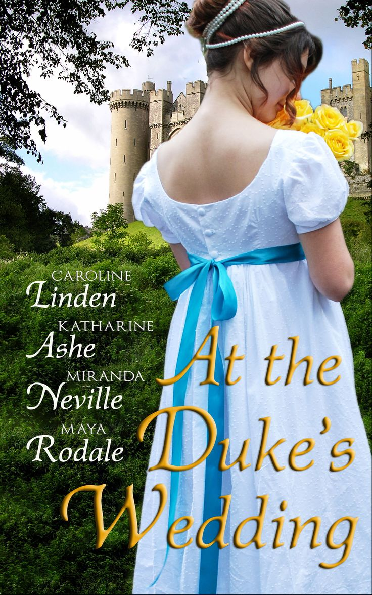 Caroline Linden, Katharine Ashe, Miranda Neville And Maya Rodale  At The  Duke's Wedding