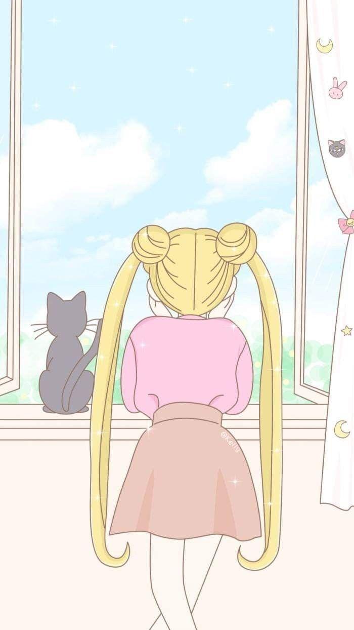Pin von areum xoxo auf Sailor Moon   Seemann mond tapete ...