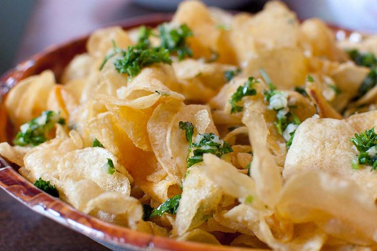 Recipe for Garlic Chips at Life's Ambrosia