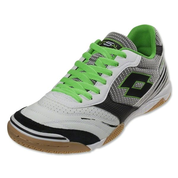 Lotto Futsal Pro VII ID (White/Fluo Mint)