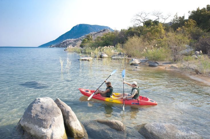 Pumulani Lake Lodge, Malawi #BucketList #Beach #Safari #Africa #Malawi #Holiday #Travel #Ocean #Lake #Adventure #Canoe #Paddle #Island