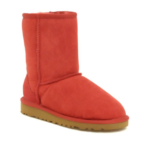 UGG Classic Boots (340 BRL) ❤ liked on Polyvore featuring shoes, boots, uggs, scarpe, обувь, footwear kwboots, kidswear, colorblock shoes, color block shoes and woven shoes