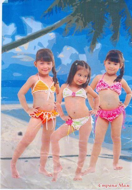 Детские купальники - Вязание для детей - Страна Мам