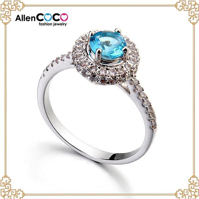 Мода из белого золота с кольца с бриллиантами из миди кольцо для женщин в новый год