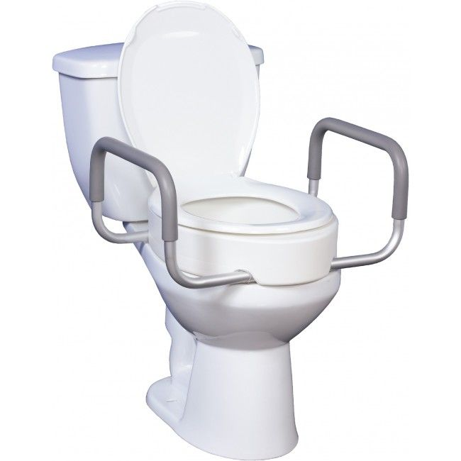 Toilet Seat Riser with Handles  1. 275 best Handicapped Accessories images on Pinterest   Bathtubs