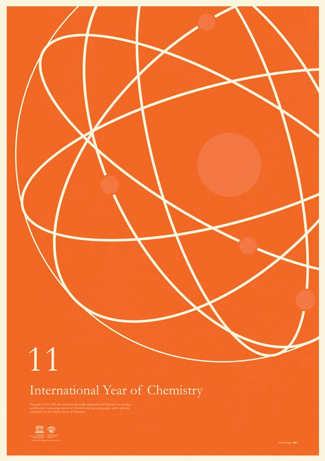 Simon C Page designs the posters for the International Year of Chemistry 2011, which are also available for purchase.