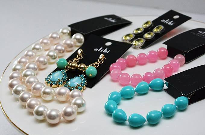 Alibi, for a fantastic range of gorgeous jewellery @Bran Dy Smart