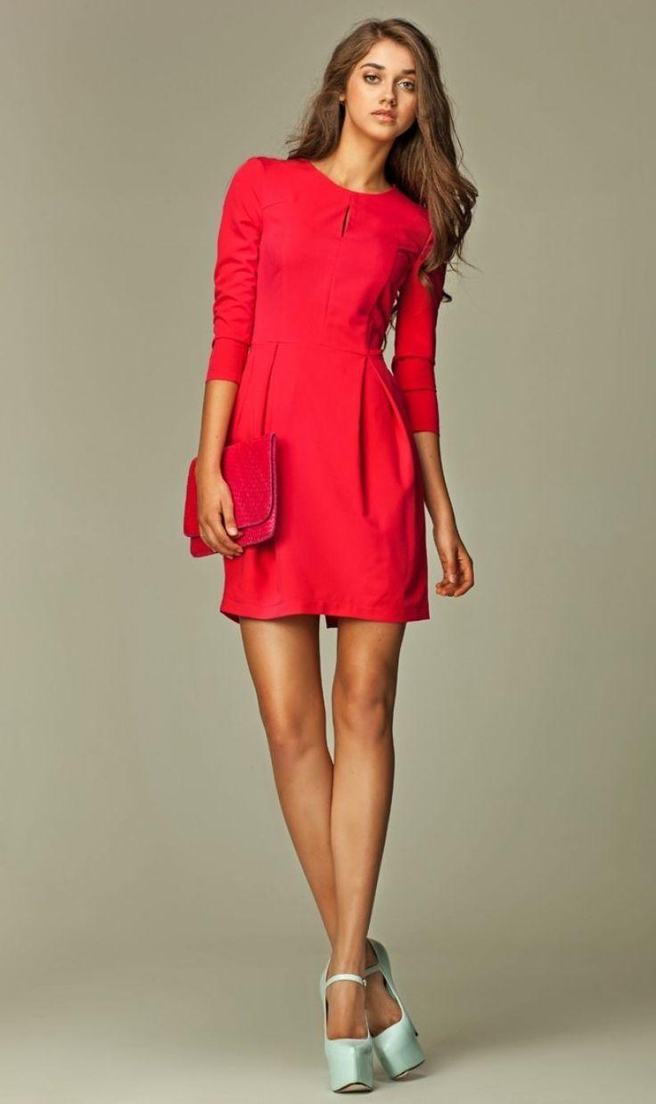Cele mai frumoase rochii casual rosii
