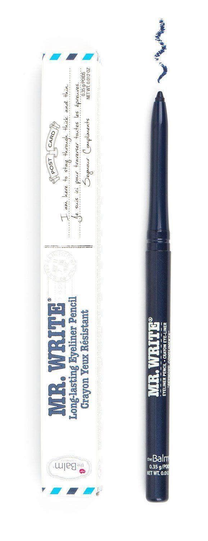 theBalm Cosmetics Mr. Write® Long Lasting Eyeliner Pencil (Seymour Compliments)  #eyeliner #theBalm #liners