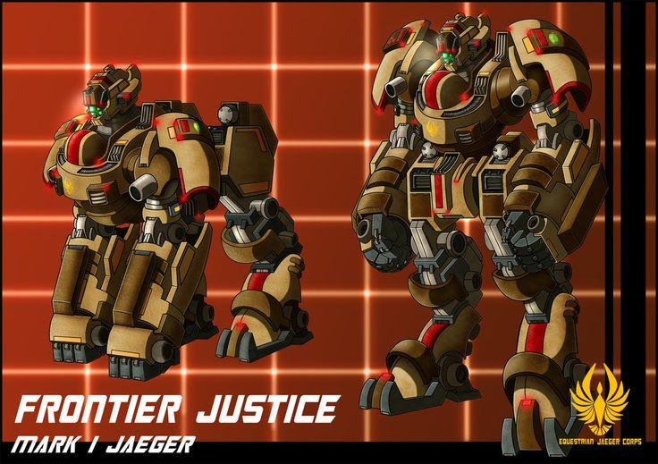 EJC jaeger Frontier Justice by zeiram0034