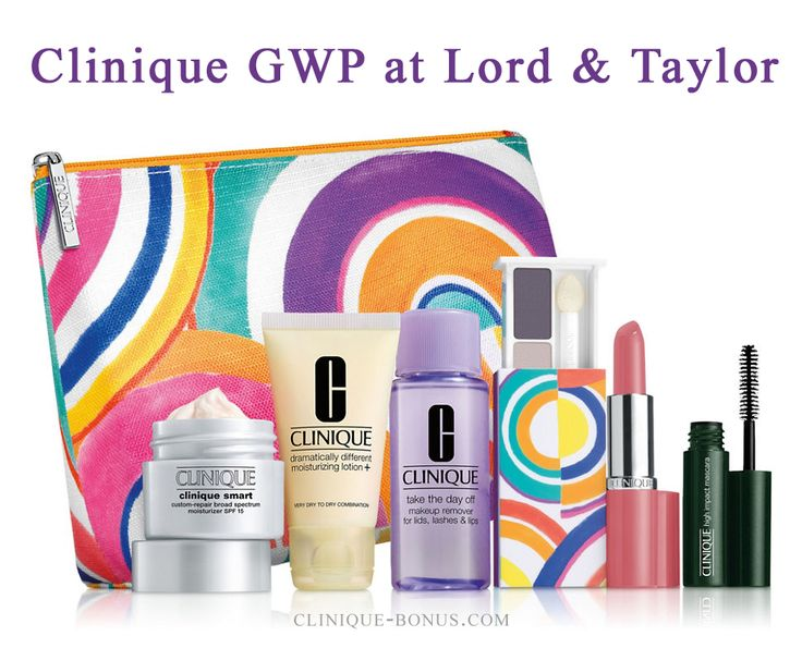 Clinique gift @ Lord & Taylor - free with $27 Clinique ...