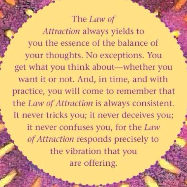 Have to see it to believe it {Heart.Mind.Soul.Blog} - The Law of Attraction…