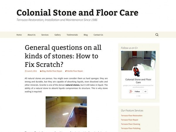 General questions on all kinds of stones: How to Fix Scratch