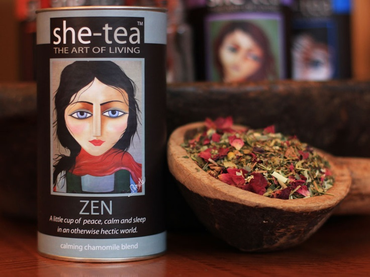 ZEN is a little cup of peace and calm in an otherwise hectic world.   I love this blend as it just looks so indulgent and tastes so comforting.