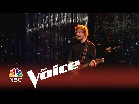 """The Voice 2014 - Ed Sheeran: """"Thinking Out Loud"""" - YouTube"""