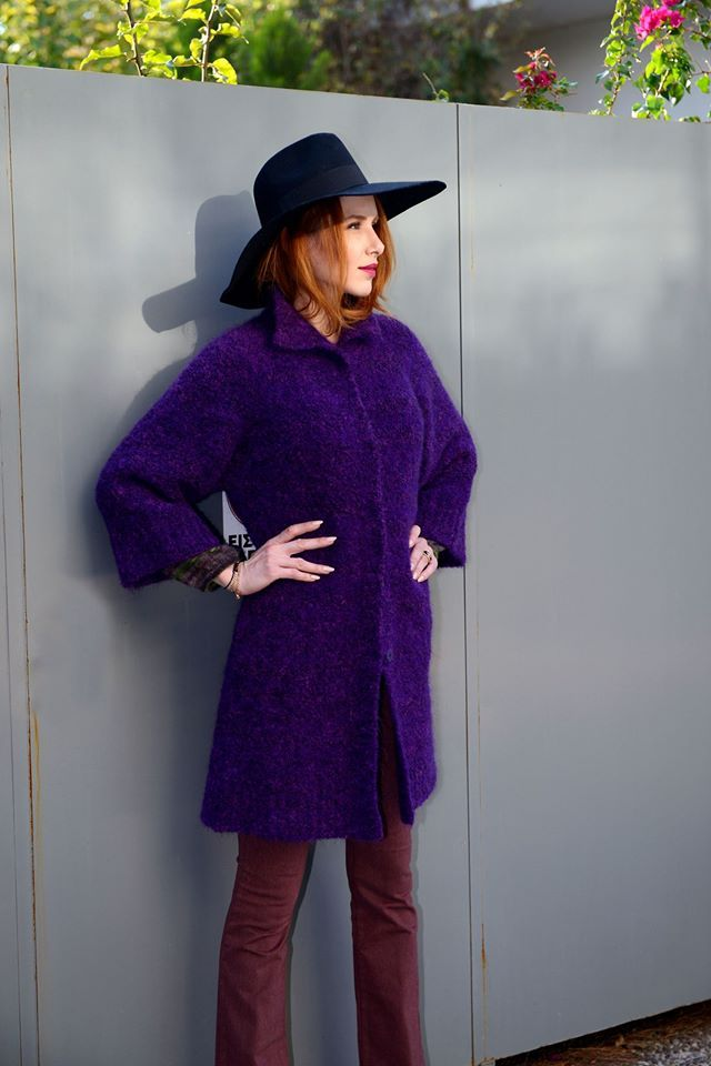 Purple is the new black! Your luxury fashion in Lili Hatzopoulos boutique