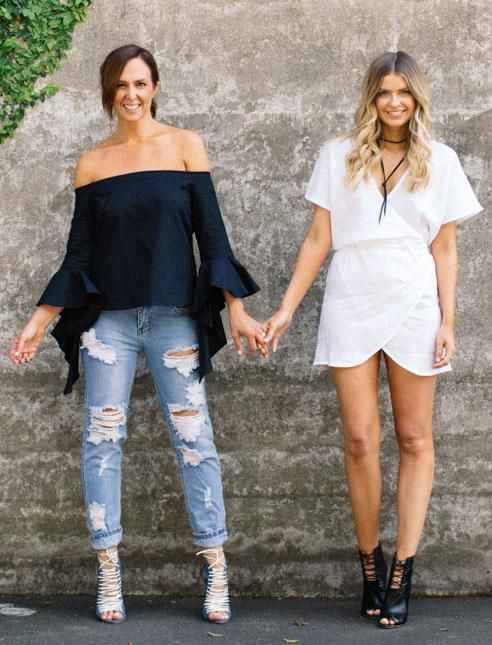 We love the Australian-girl style from Tash Sefton and Elle Ferguson of They All Hate Us - come learn what makes Aussie style different than American girls