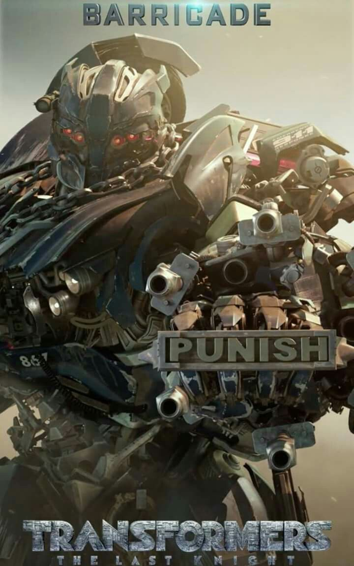 Transformers The Last Knight Barricade