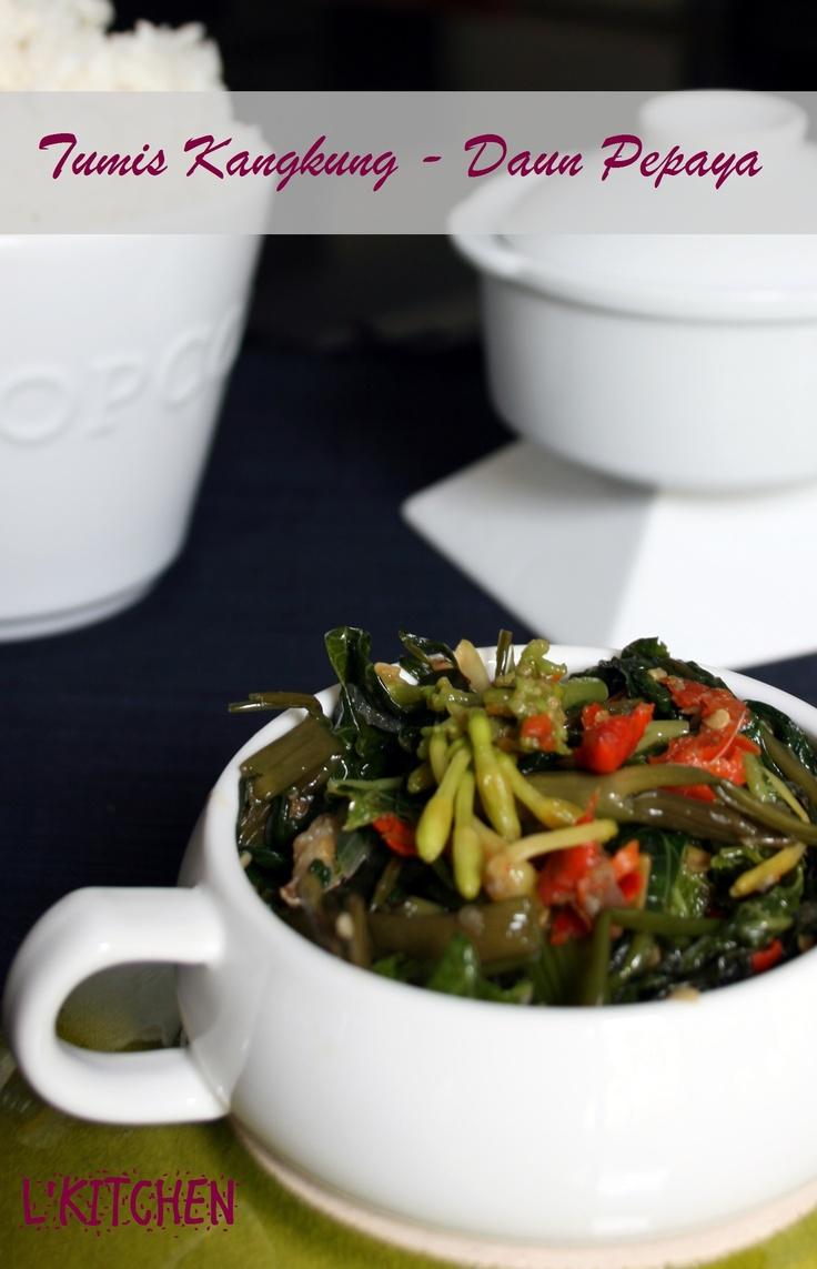 Image Result For Resep Masakan Manado Bunga Pepayaa