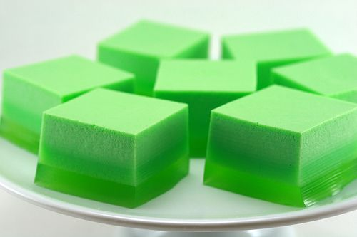 Happy St. Patrick's Day Ice Cream Jello