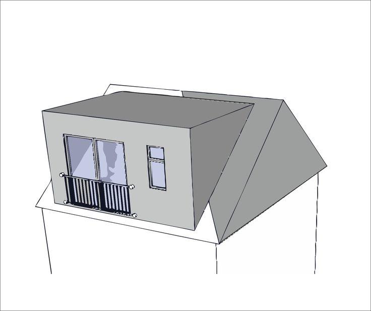 gable wall mansard loft conversion - Google Search