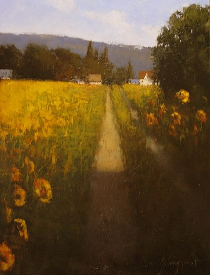 Sunflower Sunset by Romona Youngquist