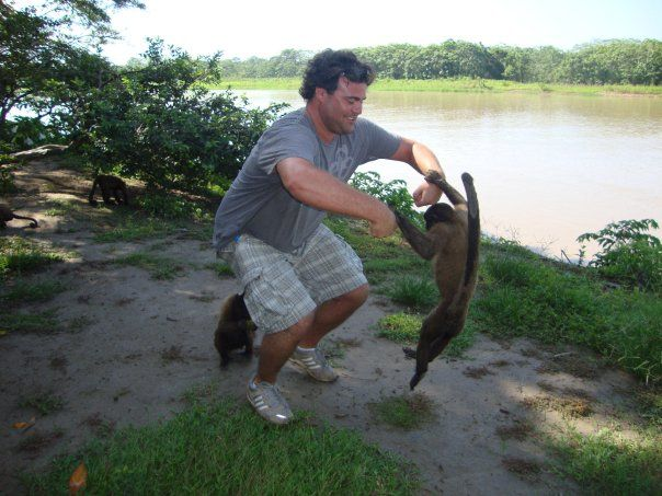 Matt G from the Latin America for Less sales team is monkeying around in #Iquitos #Peru