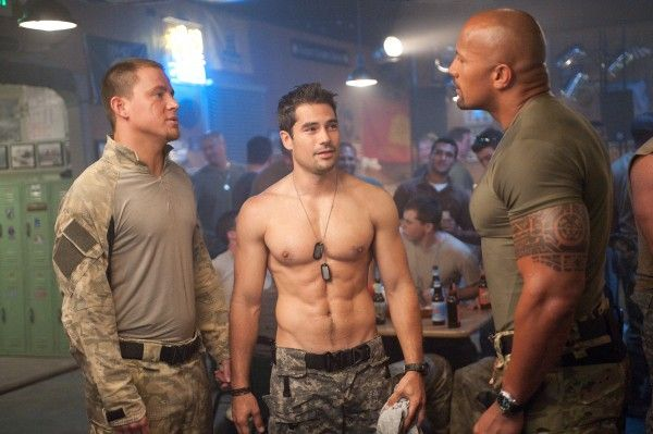 Arms, muscles and burning in three new 3D images of G.I. Joe: Retaliation